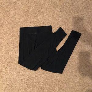 Black cotton Victoria secret leggings